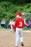 Jong geitje speelhonkbal. Stock Foto's