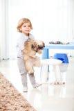 Jong geitje thuis Royalty-vrije Stock Foto's