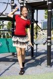 Jong Gelukkig Meisje Royalty-vrije Stock Foto