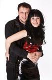 Jong gelukkig paar. royalty-vrije stock foto's