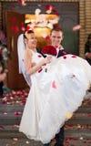Jong huwelijkspaar Royalty-vrije Stock Afbeelding