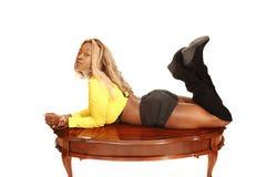 Jong Jamaicaans meisje   Stock Afbeeldingen