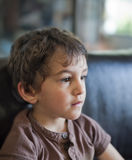 Jong jongensportret Stock Afbeeldingen