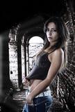 Jong Kaukasisch meisje Royalty-vrije Stock Foto