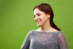 Jong lachend meisje Stock Fotografie