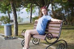 Jong langharig meisje Royalty-vrije Stock Fotografie