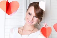 Jong leuk glimlachend meisje Royalty-vrije Stock Fotografie