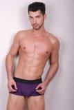 Jong mannelijk model royalty-vrije stock foto