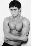 Jong mannelijk model Royalty-vrije Stock Afbeeldingen