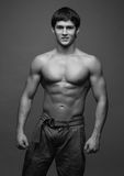 Jong mannelijk model Stock Foto