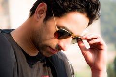 Jong Mannelijk Model, Indisch Model Royalty-vrije Stock Foto