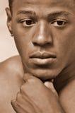Jong mannelijk portret stock foto