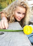 Jong meisje Stock Foto's