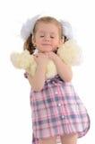Jong meisje Stock Foto