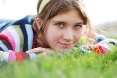 Jong meisje royalty-vrije stock foto