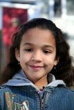 Jong Meisje buiten in de Winter Stock Foto