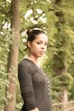 Jong Meisje in het park Stock Foto