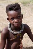 Jong meisje Himba Stock Afbeelding