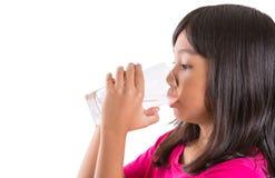 Jong Meisje met een Glas Water II Royalty-vrije Stock Afbeelding