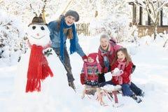 Jong Meisje met Grootmoeder en Moeder Royalty-vrije Stock Foto