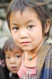 Jong meisje met parels in Nepal Royalty-vrije Stock Afbeelding