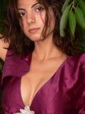 Jong meisje in roze blouse    Royalty-vrije Stock Afbeeldingen