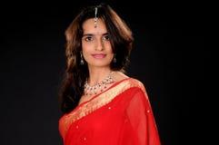 Jong Meisje van India stock foto's
