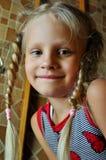 Jong meisjesportret Stock Foto
