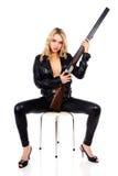 Jong mooi blond meisje royalty-vrije stock afbeeldingen