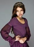 Jong mooi meisje Royalty-vrije Stock Afbeeldingen