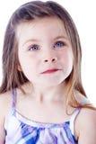 Jong mooi meisjesportret Stock Afbeelding