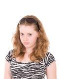 Jong mooi tienermeisje met zonnebril Royalty-vrije Stock Afbeeldingen