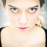 Jong mooi vrouwelijk portret Royalty-vrije Stock Fotografie