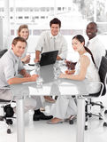 Jong Multi Commercieel Culutre Team Royalty-vrije Stock Afbeeldingen