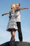 Jong paar. Stock Foto's