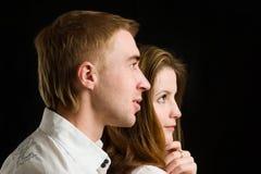Jong Paar Royalty-vrije Stock Afbeeldingen