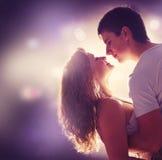 Jong Paar in liefde Royalty-vrije Stock Afbeeldingen