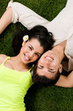 Jong paar in liefde Royalty-vrije Stock Foto's