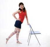 Jong sportenmeisje Royalty-vrije Stock Afbeeldingen