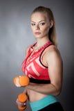 Jong sportief meisje Royalty-vrije Stock Foto's