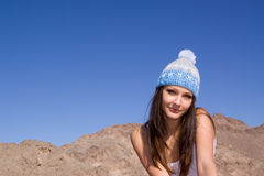 Jong stedelijk meisje Stock Afbeelding