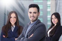 Jong team van zaken Stock Fotografie