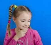 Jong vrolijk meisje stock afbeeldingen