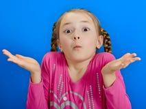 Jong vrolijk meisje royalty-vrije stock fotografie