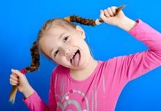 Jong vrolijk meisje stock fotografie