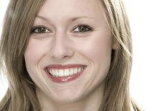 Jong vrouwengezicht stock fotografie