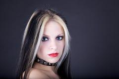 Jong vrouwenportret royalty-vrije stock fotografie