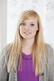 Jong vrouwenportret Royalty-vrije Stock Foto's