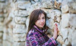 Jong Vrouwenportret Stock Afbeeldingen