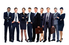 Jonge aantrekkelijke bedrijfsmensen Stock Foto
